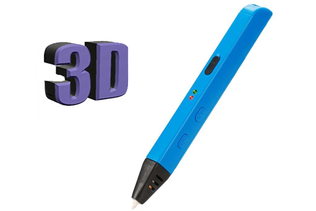 PowerNeed Sunen 3D Pen v. 4 Gen. 2016 - 3D tisk pero, modré
