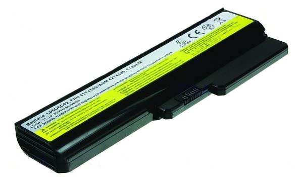2-Power baterie for IdeaPad G430/Z360/B460/G430/G450/G455/G530/G550/N500 Li-ion(6cell), 11.1V, 5200 mAh