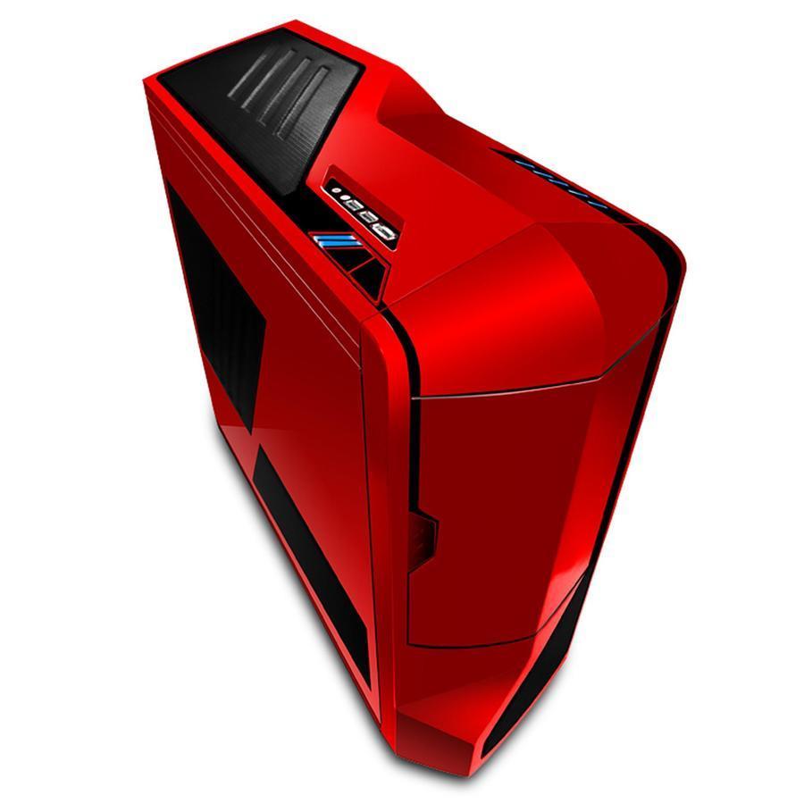 NZXT PC skříň Phantom červená