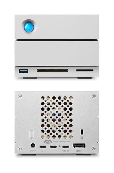 Externí disk LaCie 2big Dock Thunderbolt™ 3 , 12Tb ,THUNDERBOLT 3 + USB 3.1
