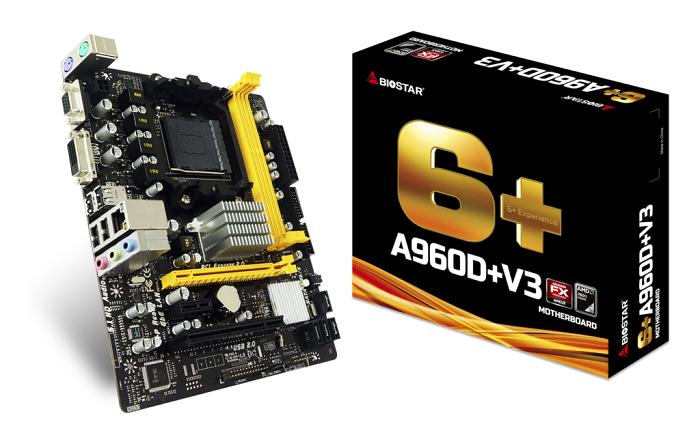 Biostar A960D+ V3, SB710, SATA2, DDR3, USB2.0, Micro ATX