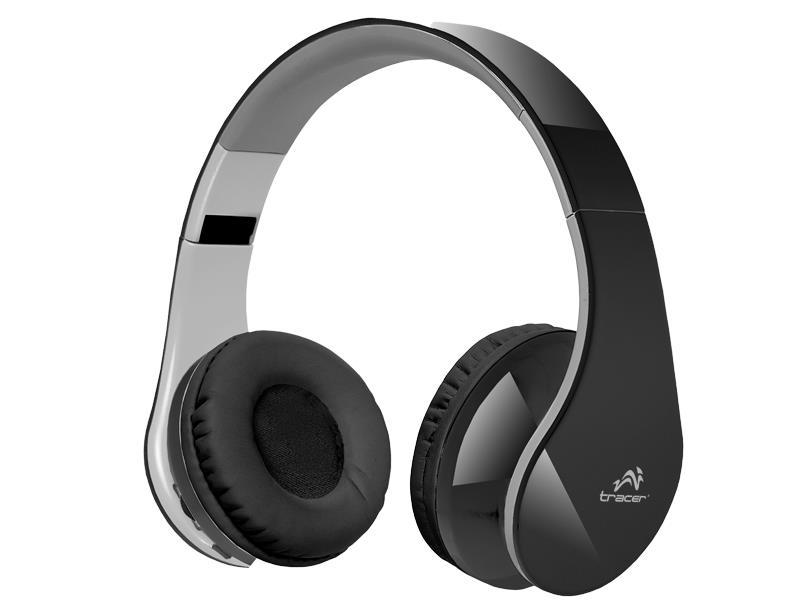 Tracer Mobile BT bezdrátová sluchátka s mikrofonem, Bluetooth 2,1, černá