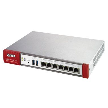Zyxel ZyWALL USG210 UTM BUNDLE, Security UTM solution: Firewall, VPN: 200x IPSec/ 150x SSL (35 default ), 6x 1Gbps (4x LAN/DMZ, 2x