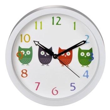 Hama dětské nástěnné hodiny Sovičky