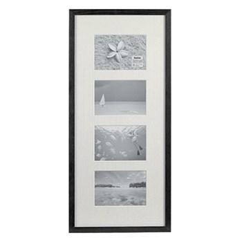 Hama rámeček dřevěný Galerie STOCKHOLM, černá, 20x61cm/4
