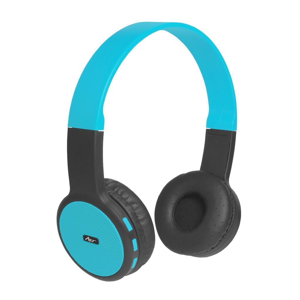ART Bluetooth Headphones with microphone AP-B05 black/blue