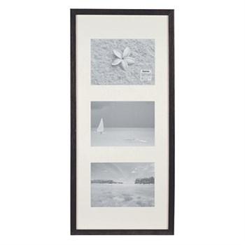 Hama rámeček dřevěný Galerie STOCKHOLM, černá, 20x61cm/3