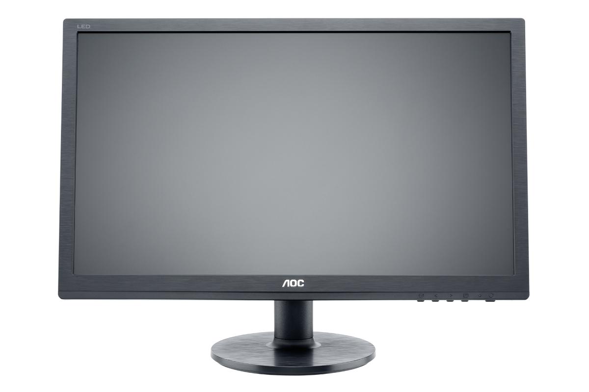 """AOC MT LCD - WLED 22"""" e2260Sda 1680x1050, 20M:1, 250cd/m, 5ms, D-Sub, DVI, Repro, Černý"""