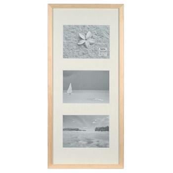 Hama rámeček dřevěný Galerie STOCKHOLM, přírodní, 20x61cm/3