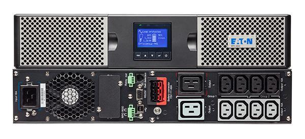 EATON UPS 9PX 1000i RT2U, On-line, Rack 2U/Tower, 100VA/1000W, výstup 8x IEC C13, USB, displej, sinus