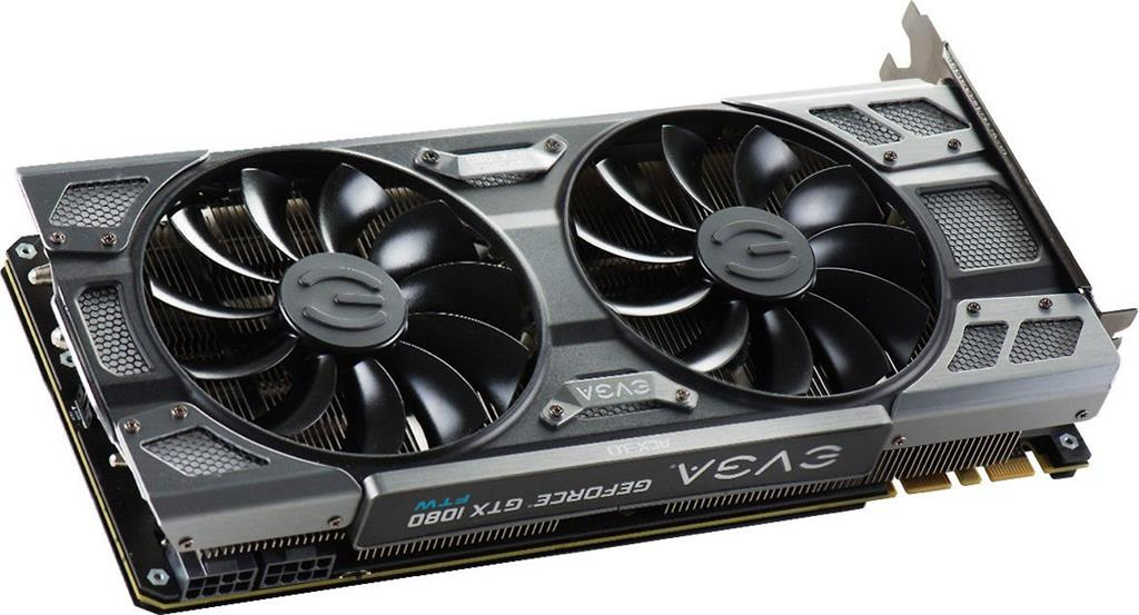 EVGA GeForce GTX 1080 FTW GAMING ACX 3.0, 8GB GDDR5X (256 Bit), HDMI, DVI, 3xDP+