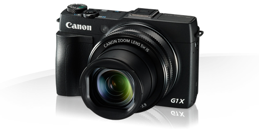 Canon PowerShot G1X Mark II - 12,8 MP , 5x zoom , 24-120mm