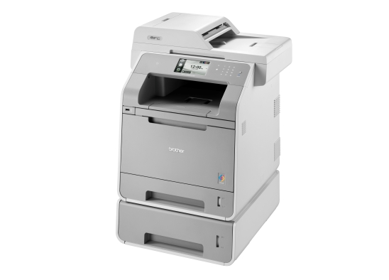 BROTHER multifunkce color laserová MFC-L9550CDWT - A4, 28ppm, 256MB, 1200x600c, PCL, dup, LAN USB WiFi 250+500, 50ADF