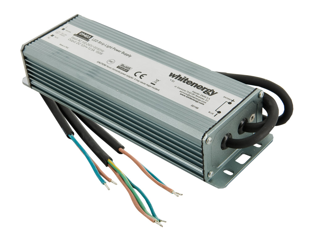 WE Zdroj LED WATERPROOF IP67 230V 150W 12V
