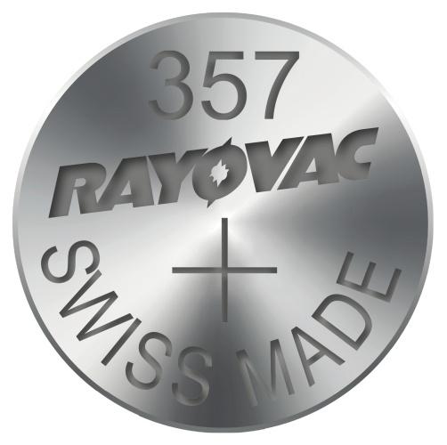 Rayovac 357 (SR1154W, 11.6 x 5.4 mm) - 10 ks, krabička