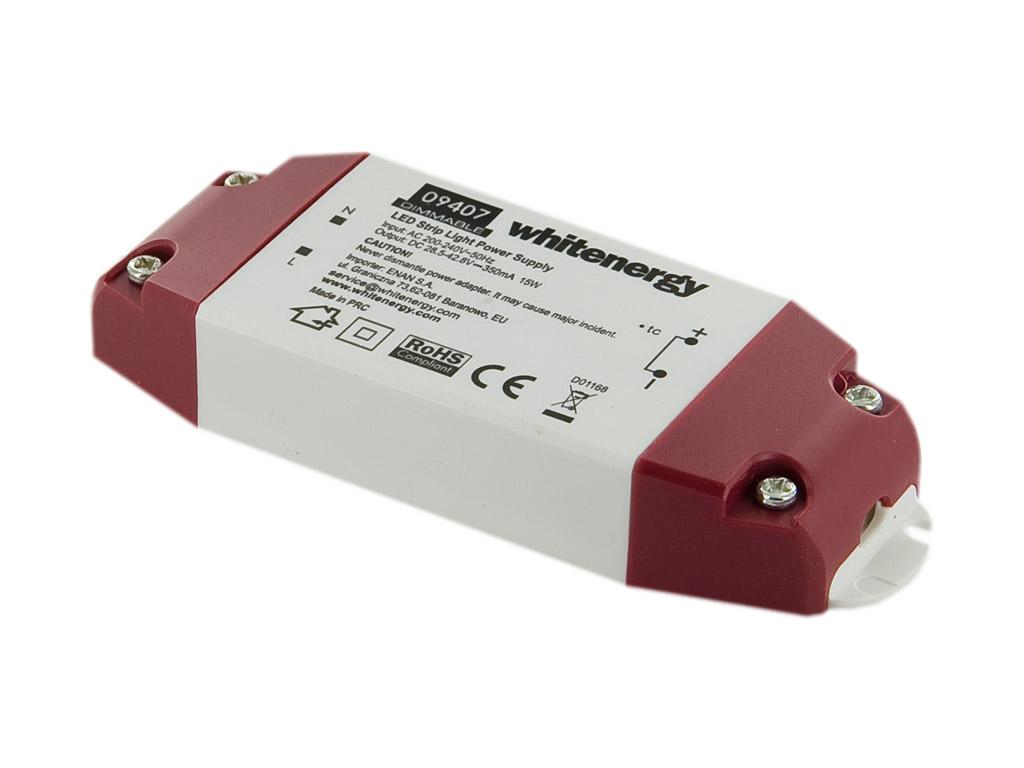 Whitenergy Napájecí zdroj pro LED DIMMABLE 230V|15W|28-43V|350mA