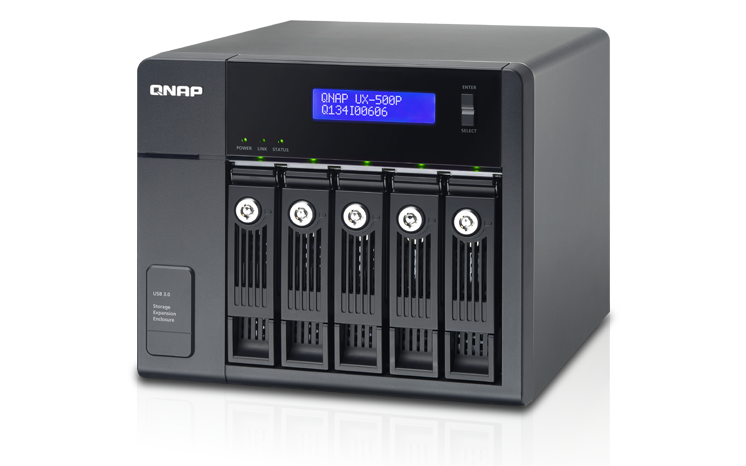 QNAP UX-500P (5-Bay USB 3.0 Expansion unit)