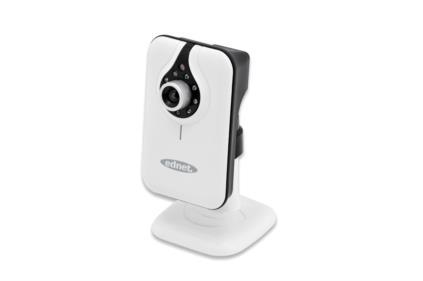 Ednet bezdrátová IP kamera CUBE, MJPEG, interní mikrofon a reproduktor, IR LED Provozní teplota -5 ~ 55 ° C