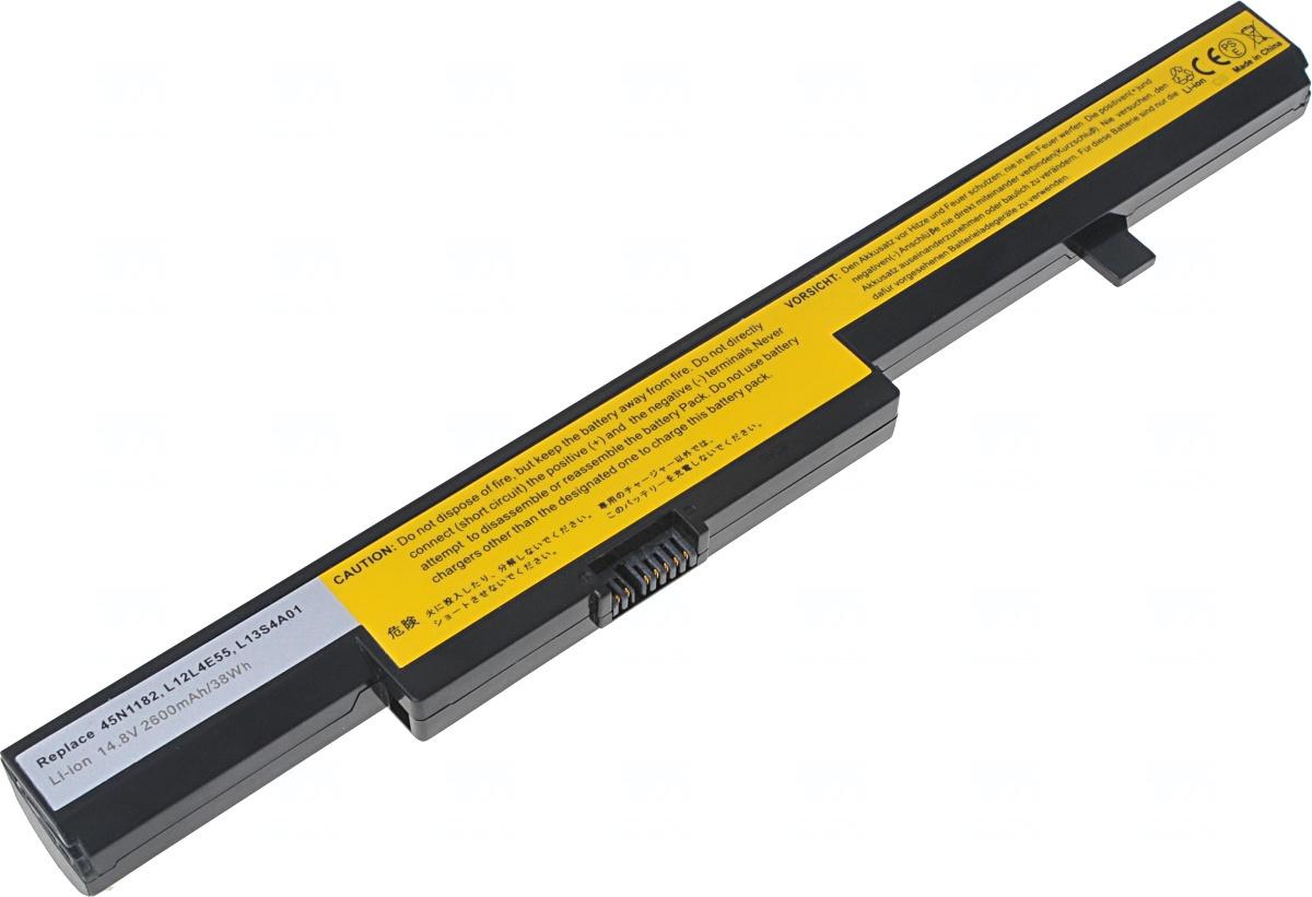 Baterie T6 power Lenovo B40-30, B50-30, E40-30, E50-70, N40-30, N50-30, 2600mAh, 38Wh, 4cell