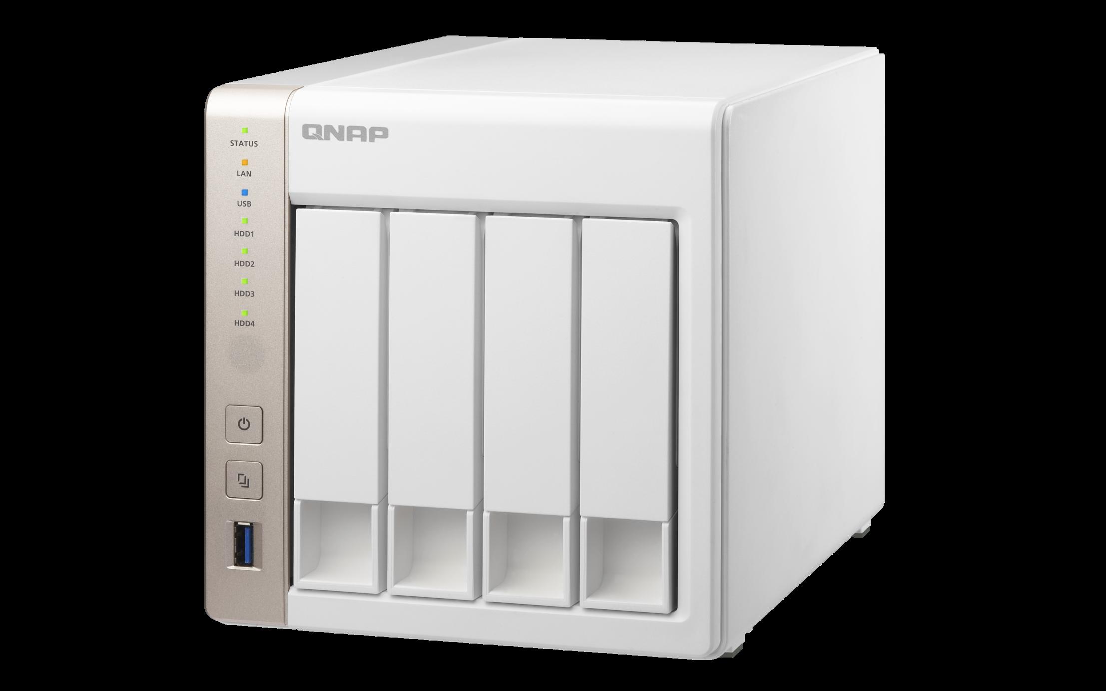QNAP TS-451 TWR 4x 2.5/3.5 SATA Celeron 2.41 DC 1GB DDR3L 2xGlan