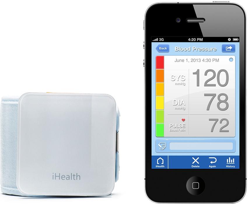 iHealth BP7 Bluetooth zápěstní měřič krev. tlaku
