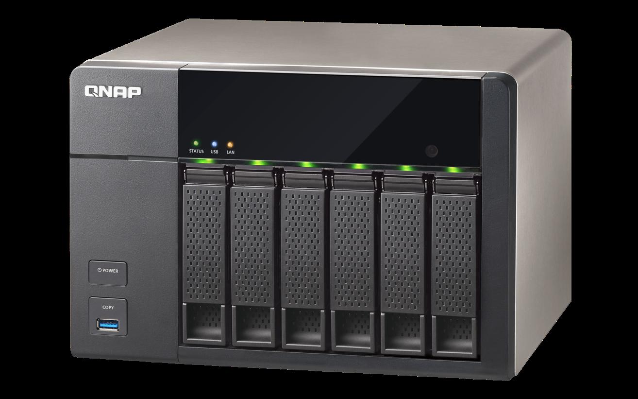 QNAP TS-651 (2.41GHz, 1GB RAM, 2x LAN, 6x SATA)