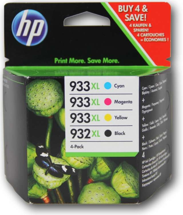 HP C2P42AE Ink Cart No.932XL+933XL, CMYK, (CN053AE-56)