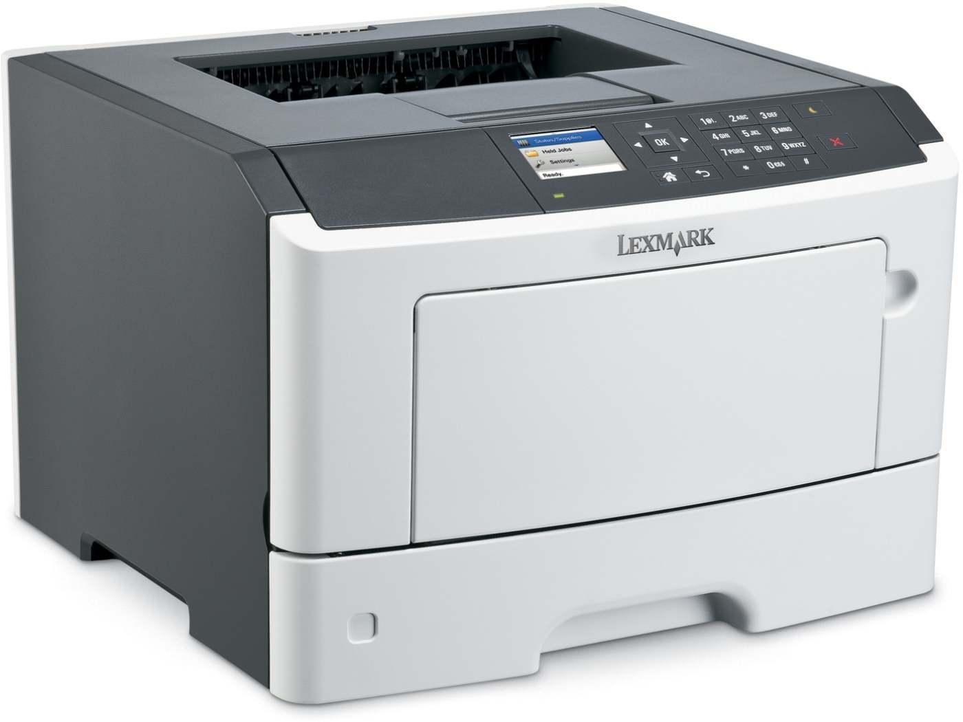 Lexmark MS415DN mono laser, 38 str./min., duplex, síť, paralel. port