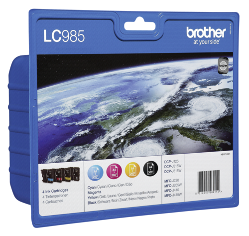 Brother LC-985 Value Pack BK/C/M/Y