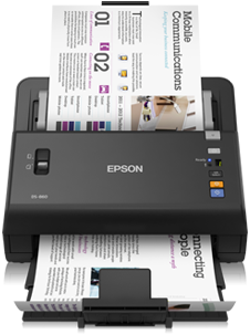 Epson WorkForce DS-860, A3, 600dpi, ADF, USB