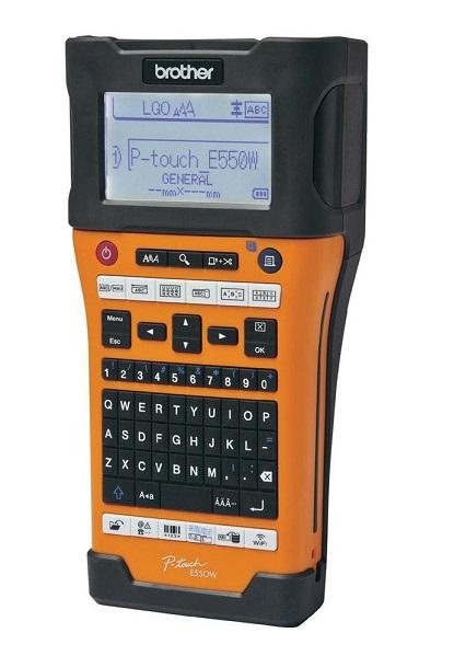 Brother PT-E550WVP tisk. samolep. štítků s WiFi, pro pásky 6-24 mm + kufr