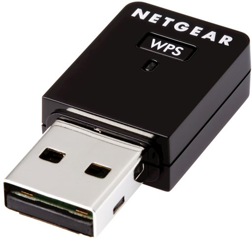 Netgear Wireless N300, USB Mini Adapter - 300Mbits - WNA3100M