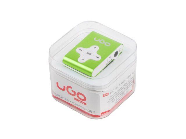UGO MP3 player UMP-1024 (Micro SD) Green
