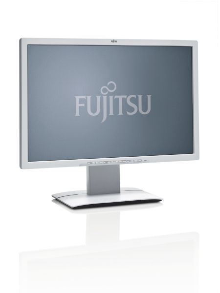 Fujitsu 24´´ B24W-7 LED 1920 x 1200/20M:1/5ms/250cd/VGA/DVI/DP/4xUSB/repro/4-in-1 stand/marble grey