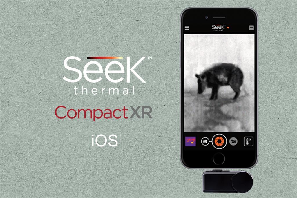 SEEK THERMAL Compact XR iOS termokamera pro iPhone/iPod