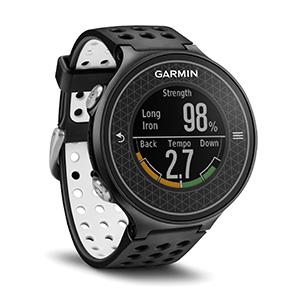 Garmin Golfové GPS hodinky Approach S6 Black Lifetime