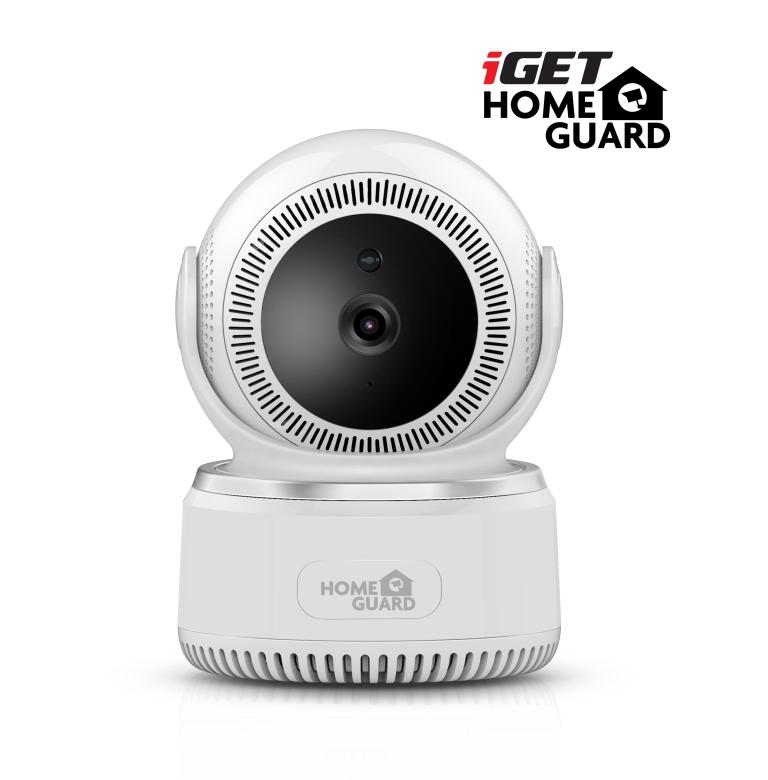 iGET HGWIP812 - bezdrát. rotační IP FullHD 1080p kamera, FTP, Email, WiFi, noční vidění,microSD slot