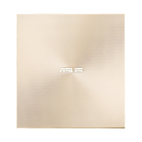 External DRW Asus SDRW-08U9M-U, USB Type-C and Type-A, Ultra-Slim, Gold