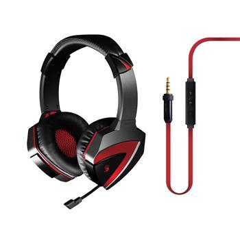 A4tech Bloody G500, herni sluchátka s mikrofonem, 4 pin konektor, vhodné i pro smartphone, tablet