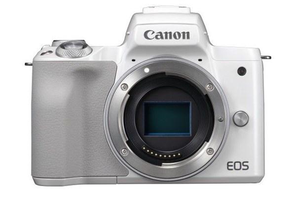 Canon EOS M50 Body WHITE, bezzrcadlovka + 16GB karta ZDARMA
