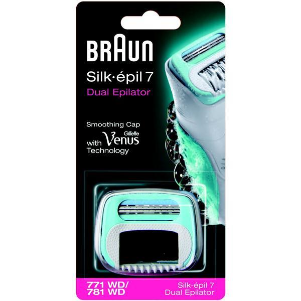 Náhradní hlavice Braun SE7 Bloom 771S Náhradní hlavice 771WD/781WD k Silk épil 7 Dual Epilator