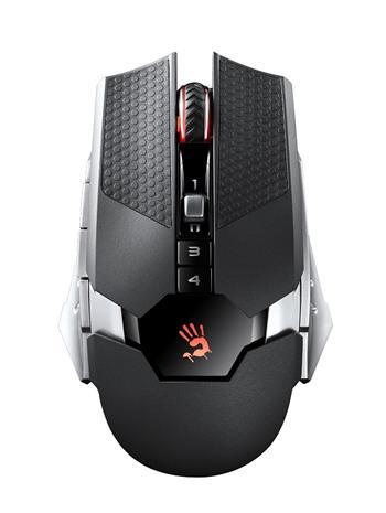 A4tech Bloody RT5 Warrior, bezdrátová herní myš, černá, USB, 4000DPI, CORE 2