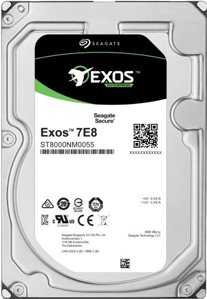 HDD 2TB Seagate Exos 7E8 512e SATAIII 7200rpm