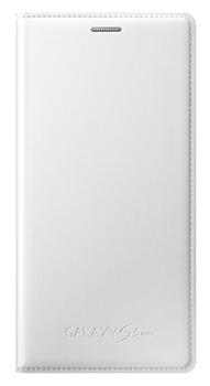 Samsung flip. pouzdro pro S5 mini (SM-G800), Bílá