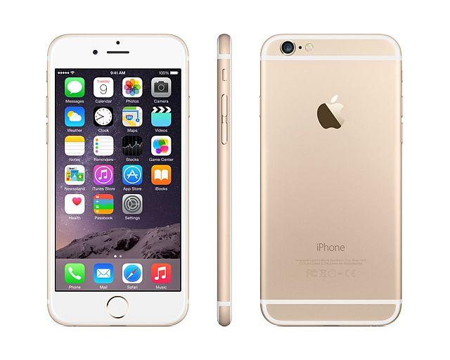 Apple iPhone 6 32GB - zlatý