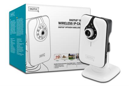 DIGITUS® Plug&View OptiView Pro 1MP Denní & Noční kamera Max. HD720