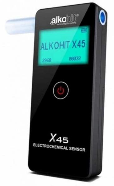 ALKOHIT X45 elektrochemický profesionální alkohol tester