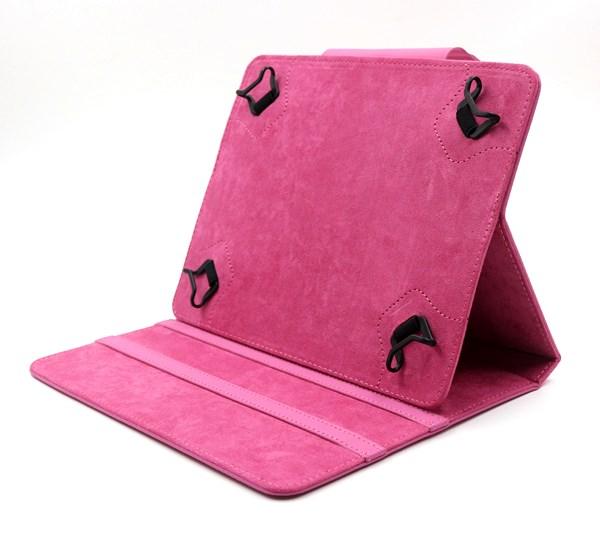 "C-TECH pouzdro univer. pro 8"" tablety růžové"