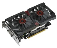 ASUS STRIX-GTX750TI-OC-2GD5, NVIDIA GeForce GTX 750 Ti, GDDR5 2GB, DVI, HDMI, DP