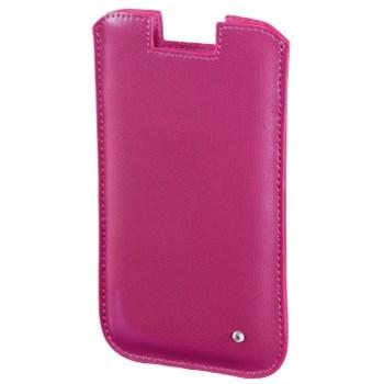 Hama pouzdro na mobil Shiny Metallic, velikost L, růžové